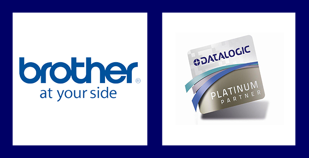 brother and datalogic logos - hardware partners of GOT