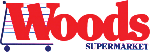 woods supermarket logo
